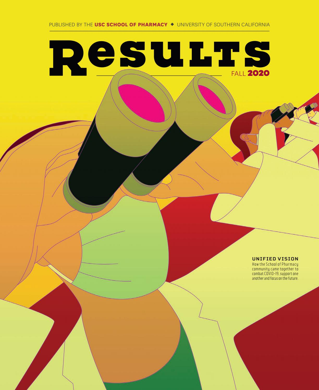 Usc 2022 Calendar.Usc Pharmacy Results Magazine Fall 2020 Issue By Uscpharmacy Issuu