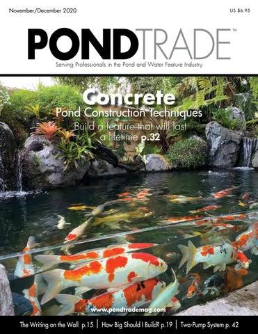 Pond Trade Magazine Nov Dec 2020 By Pond Trade Magazine Issuu