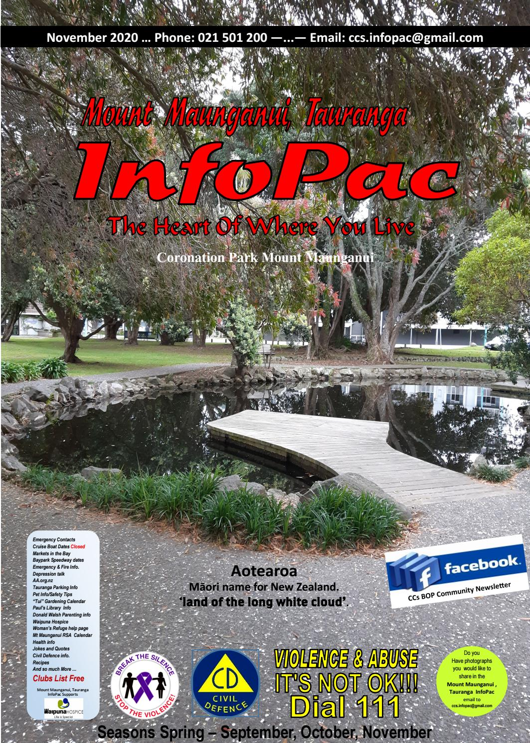 Mount Maunganui Tauranga Infopac November 2020 By Cindy Foster Issuu