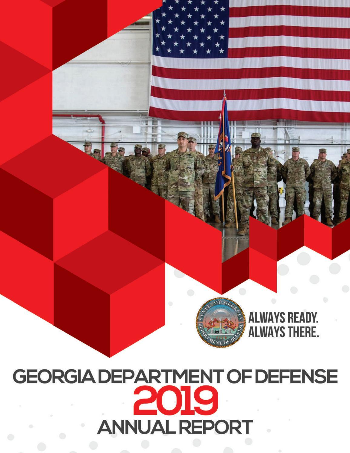 Georgia National Guard 2019 Annual Report By Georgia National Guard Issuu