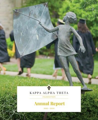 2019 2020 Theta Foundation Annual Report By Kappa Alpha Theta Foundation Issuu