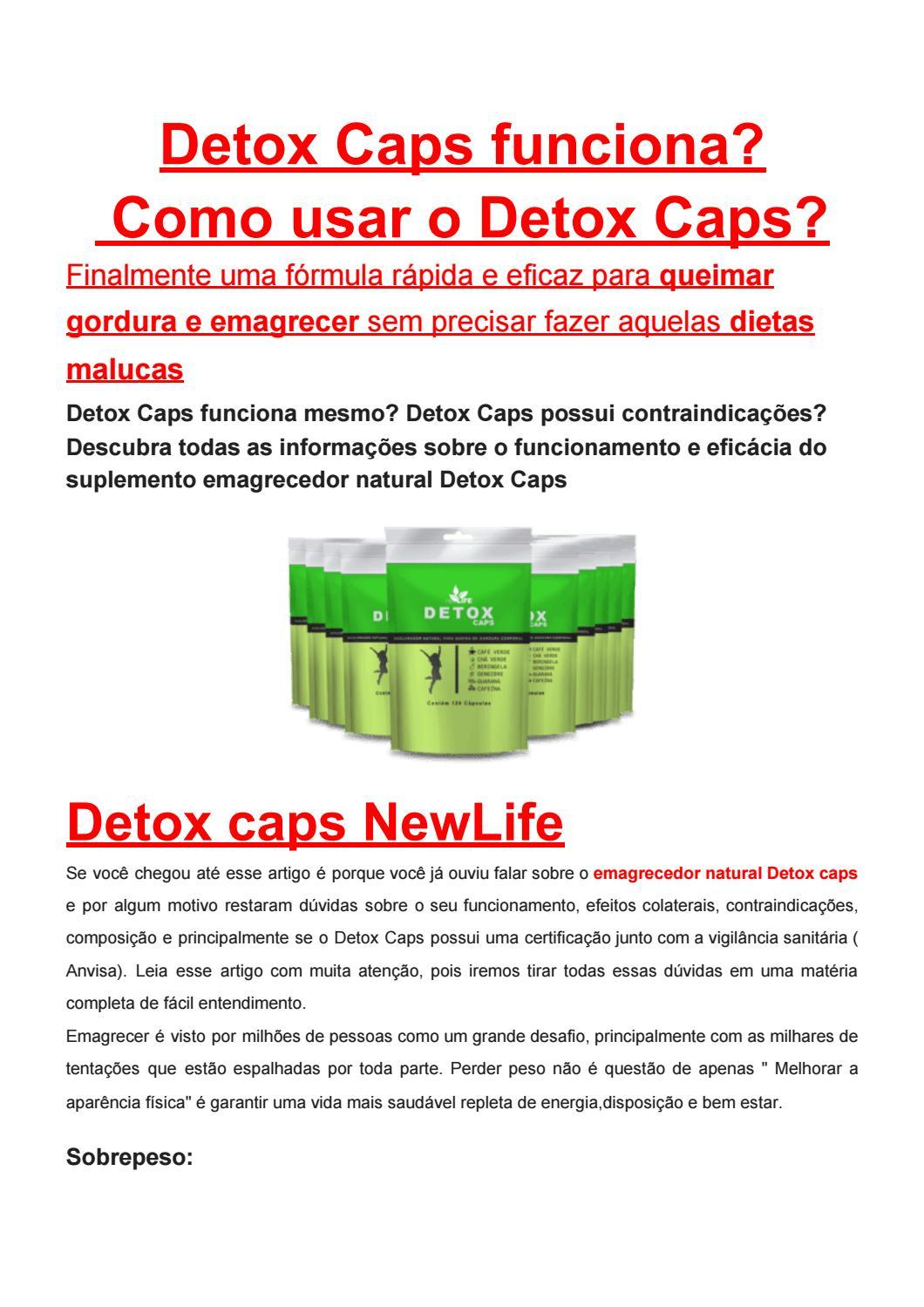 lift detox caps funciona mesmo