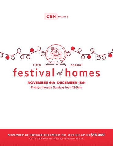 Cbh Homes Festival Of Homes 2020 By Cbh Homes Issuu