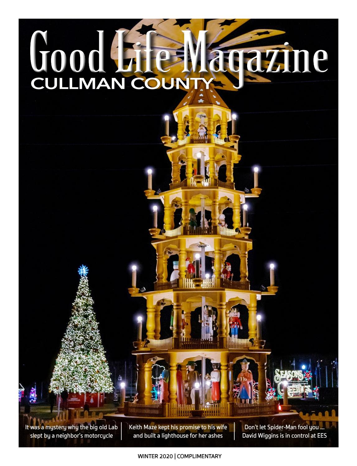 Cullman Good Life Magazine Winter 2020 By The Good Life Magazine Issuu