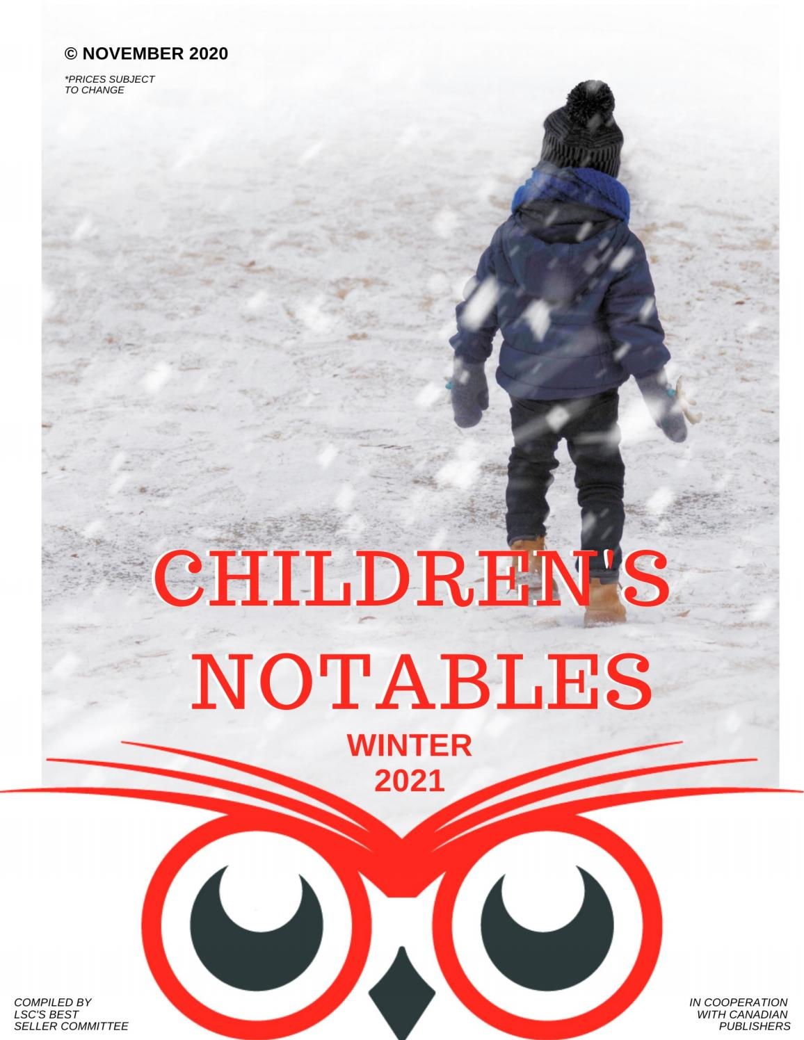 Lsc Children S Notables Winter 2021 By Library Services Centre Lsc Issuu