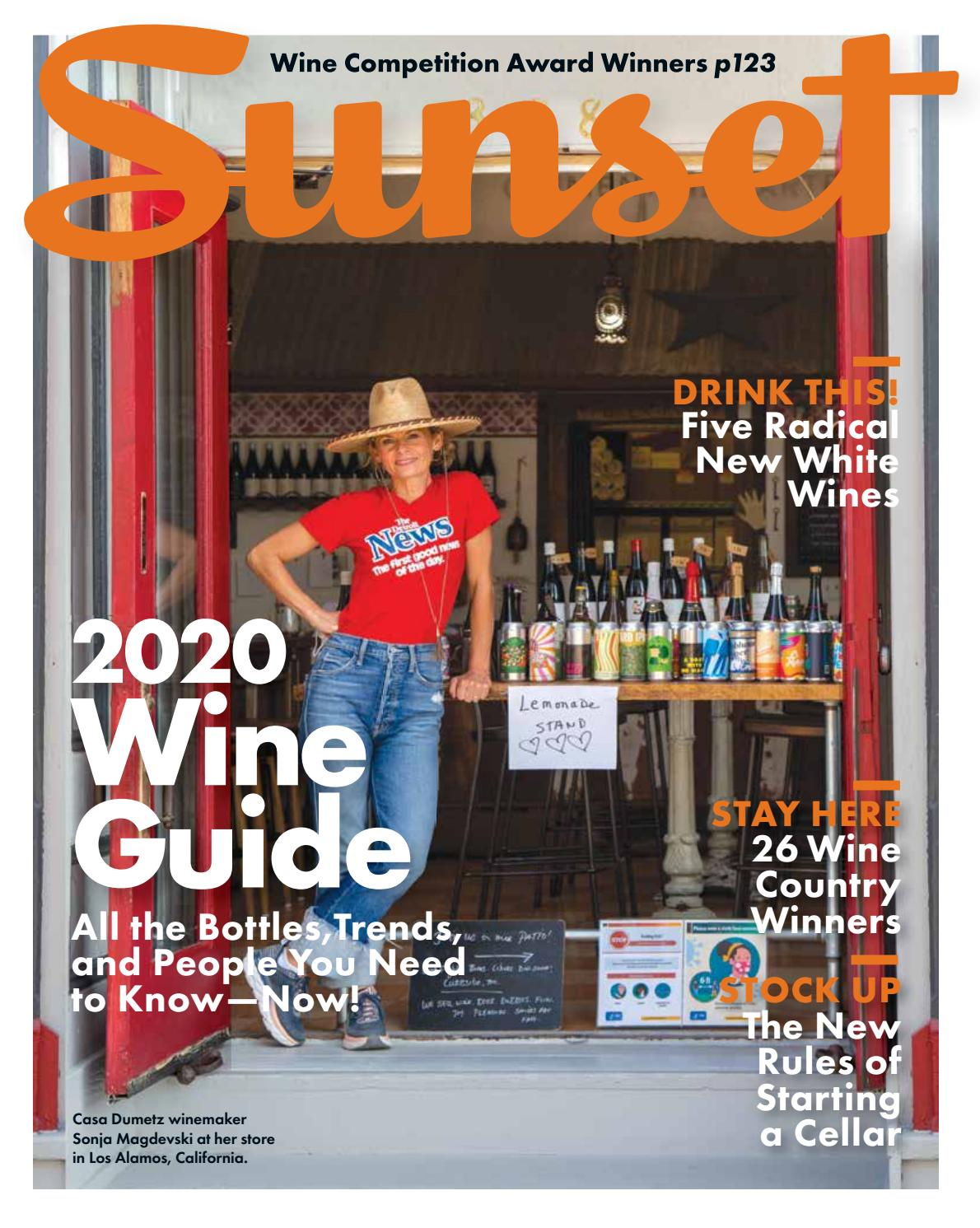 Sunset The 2020 Wine Guide By Sunsetmag Issuu