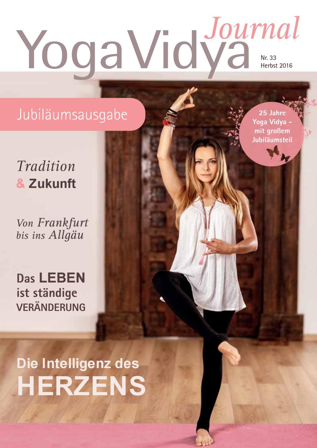 Yoga Vidya Journal Nr 33 Jubilaumsausgabe Herbst 2016yoga Vidya Journal Nr33 By Yoga Vidya Issuu