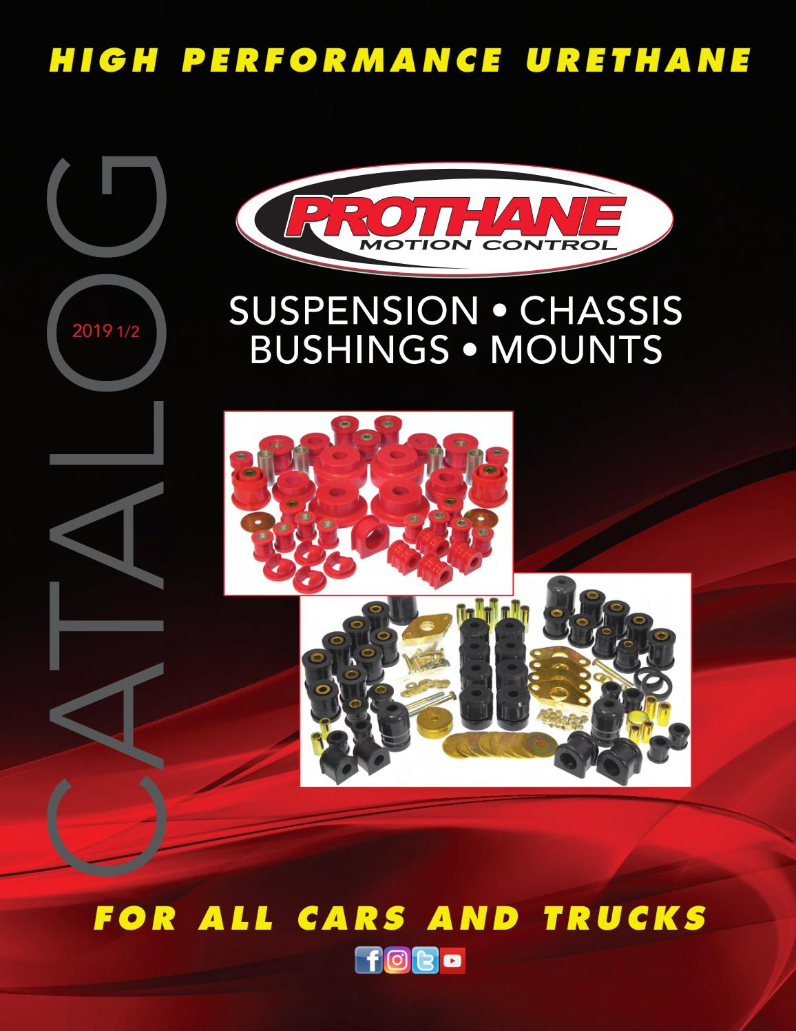 Prothane 8-316-BL Black Rear Trailing Arm Bushing Kit
