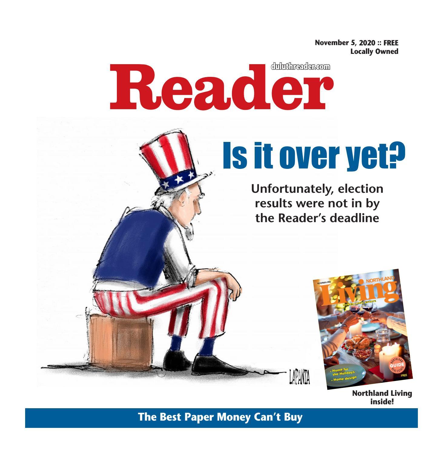 Virtual Reader Nov 5 2020 By Readerduluth Issuu