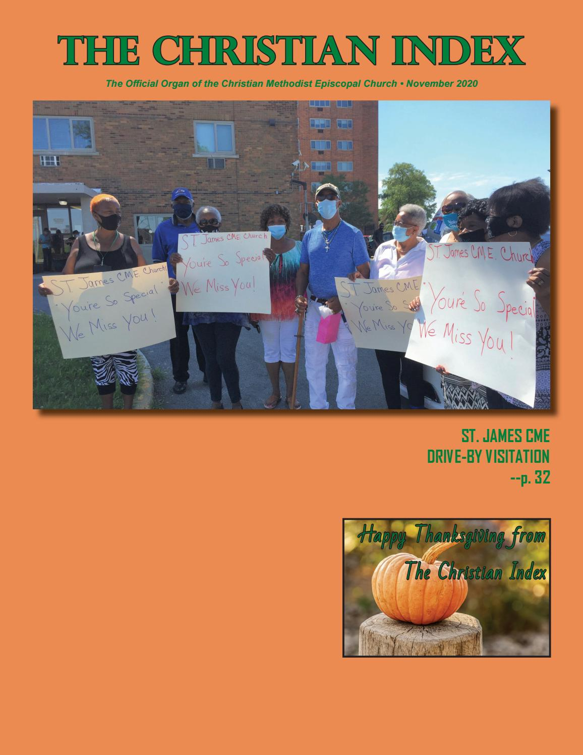 The Christian Index November 2020 By Ore Spragin Ministries The Christian Index Issuu