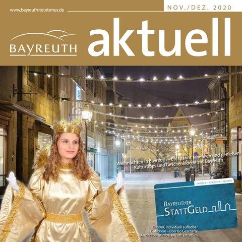 Bayreuth Aktuell Weihnachten November Dezember 2020 By Bayreuther Sonntagszeitung Issuu