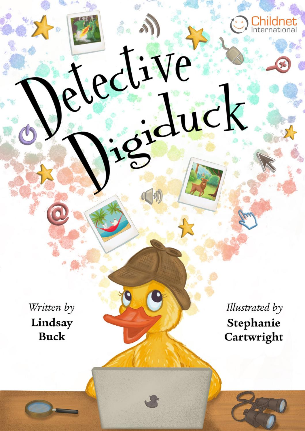 Image result for detective digiduck internet safety