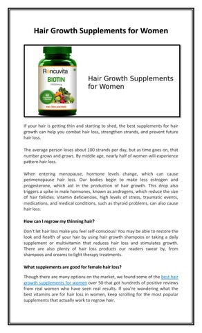 Progesterone and hair growth