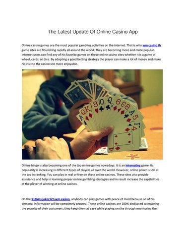 The Latest Update On Wm Casino Th By Wmcasinoth Issuu