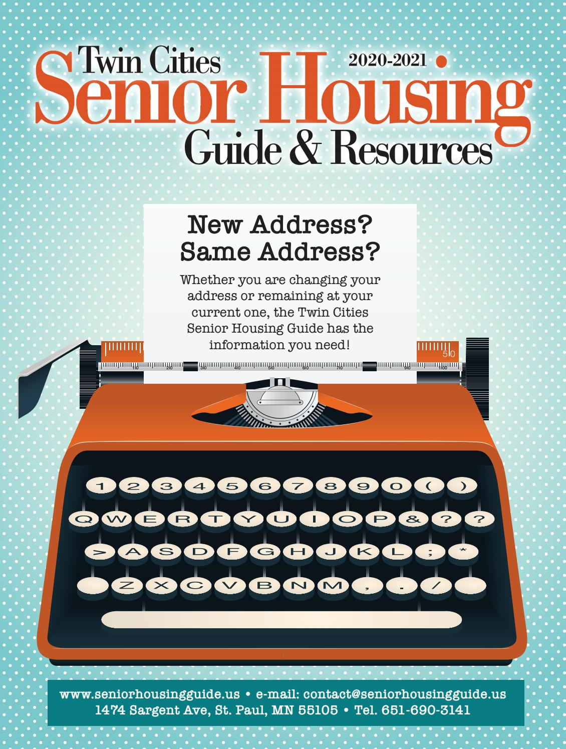2020 21 Twin Cities Senior Housing Guide By Senior Housing Guide Issuu
