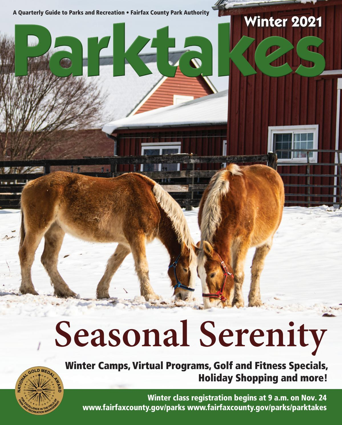 Winter Parktakes 2021 by Fairfax County Park Authority   issuu