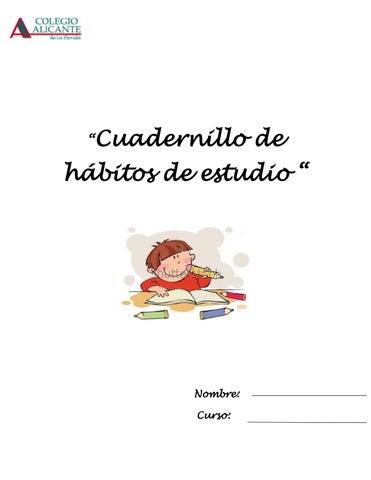 Cuadernillo Estrategias Habitos Estudio By Estephany Puello Salas Issuu