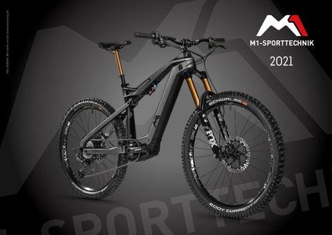 Rowery elektryczne M1 Sporttechnik 2021