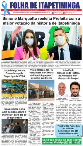 Folha de Itapetininga 17/11/2020 (Terca-feira)
