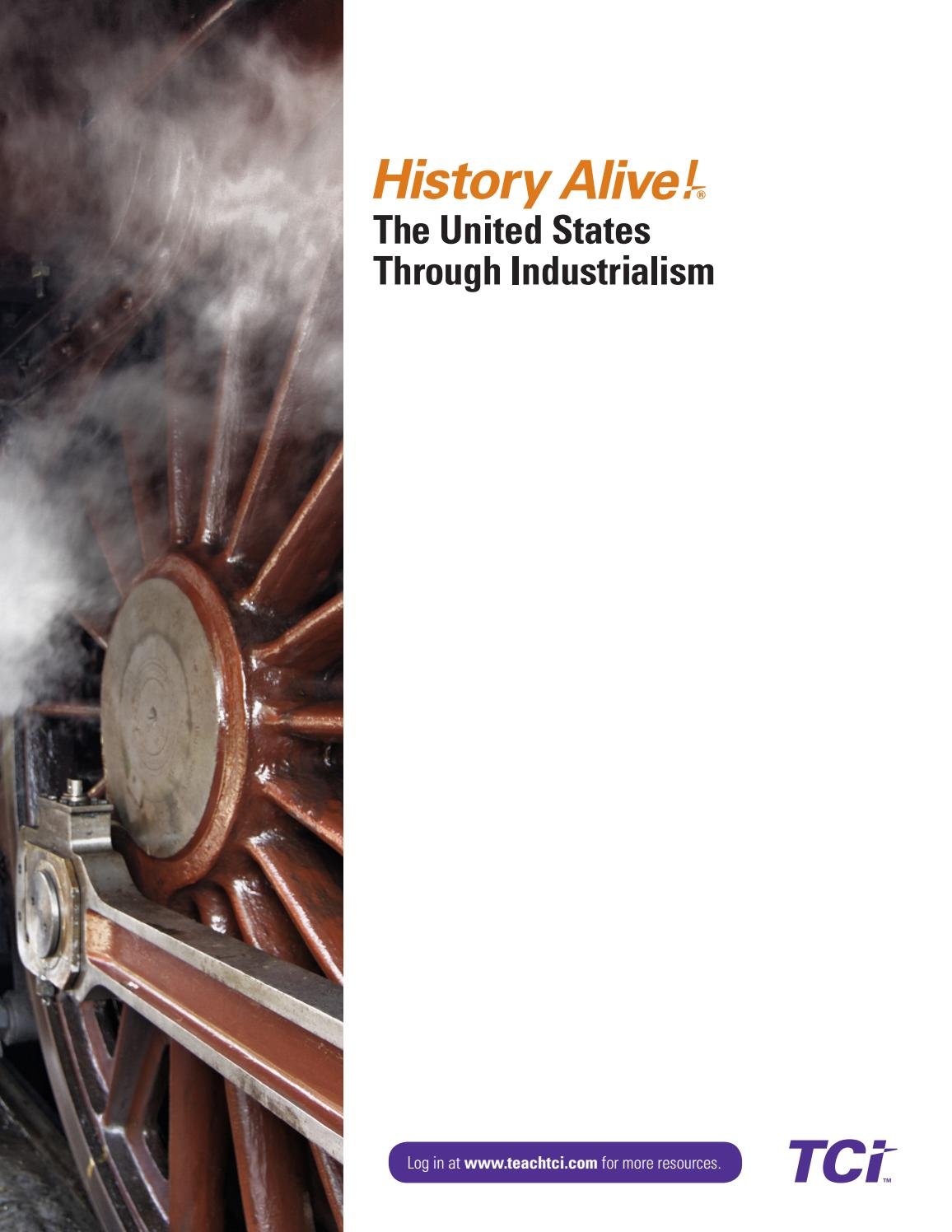History Alive United States Through Industrialism Sample By Teachers Curriculum Institute Tci Issuu