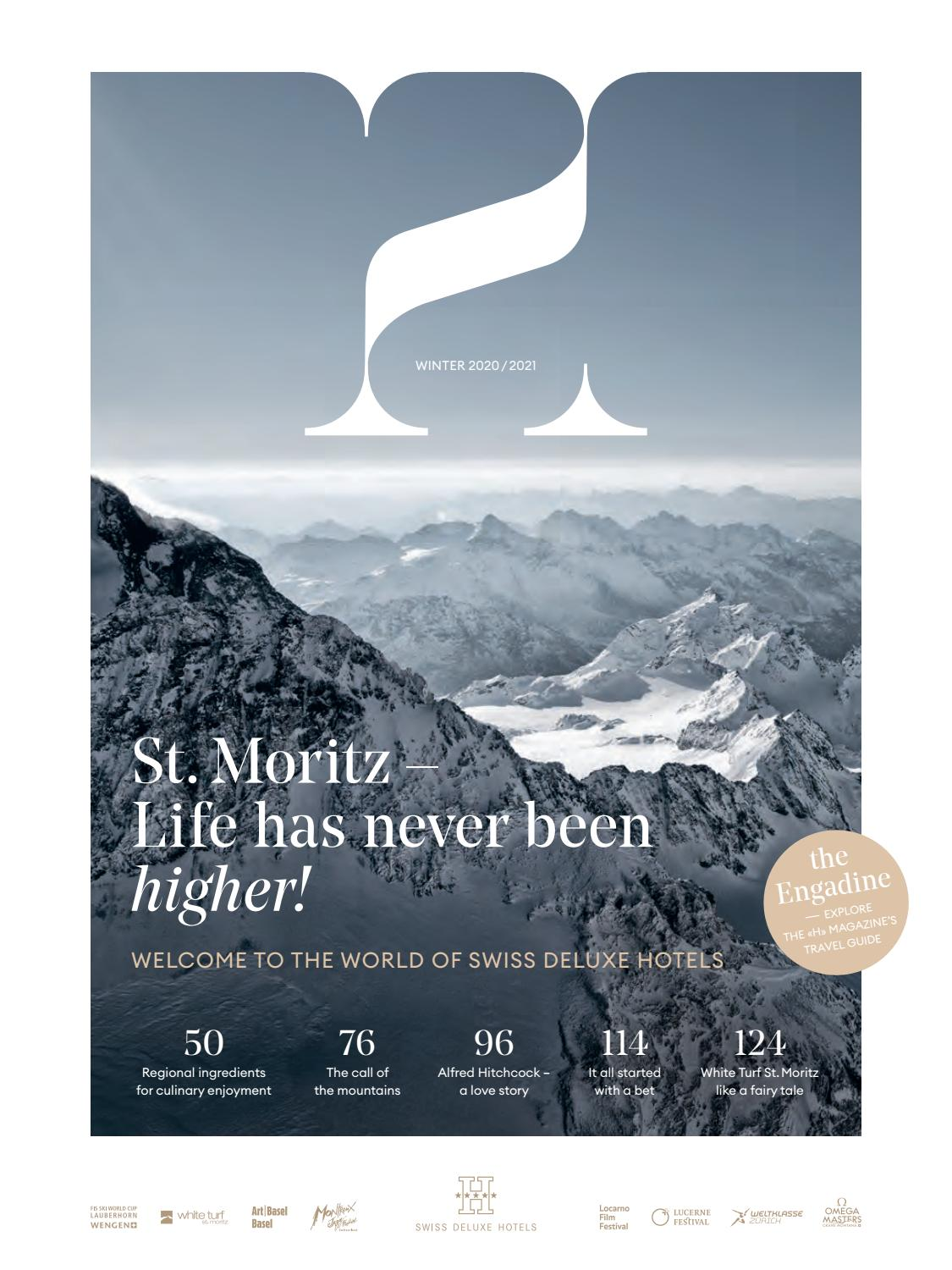 H Magazine Winter 2020 2021 By Swiss Deluxe Hotels Issuu