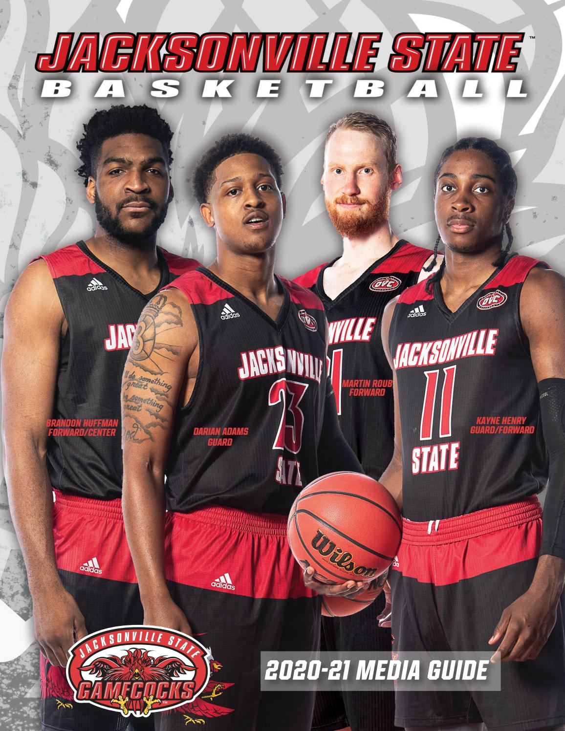 2020 21 Jacksonville State Men S Basketball Media Guide By Jacksonville State Athletics Issuu
