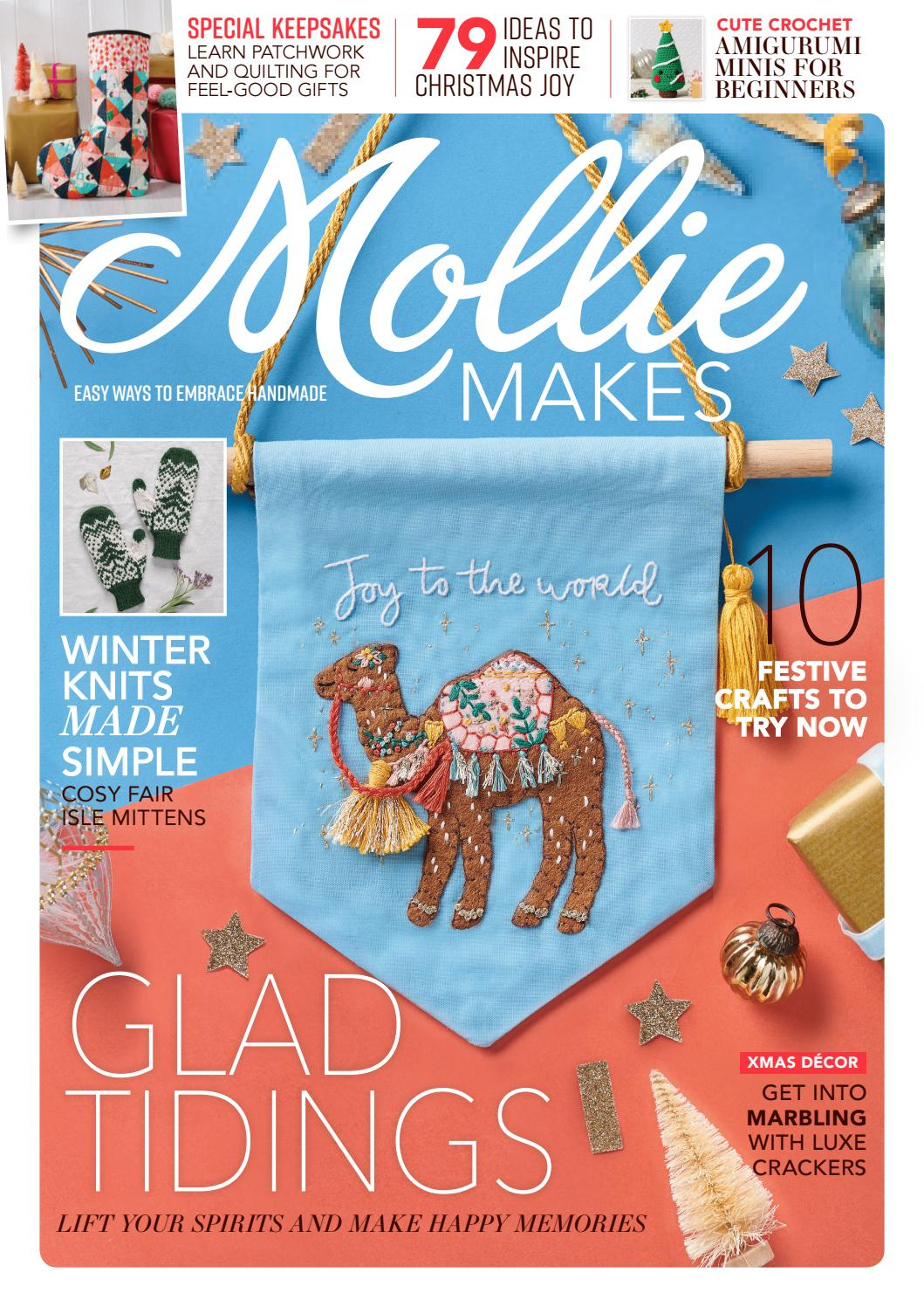 Mollie Makes 123 By Immediate Media Co Magazines Issuu