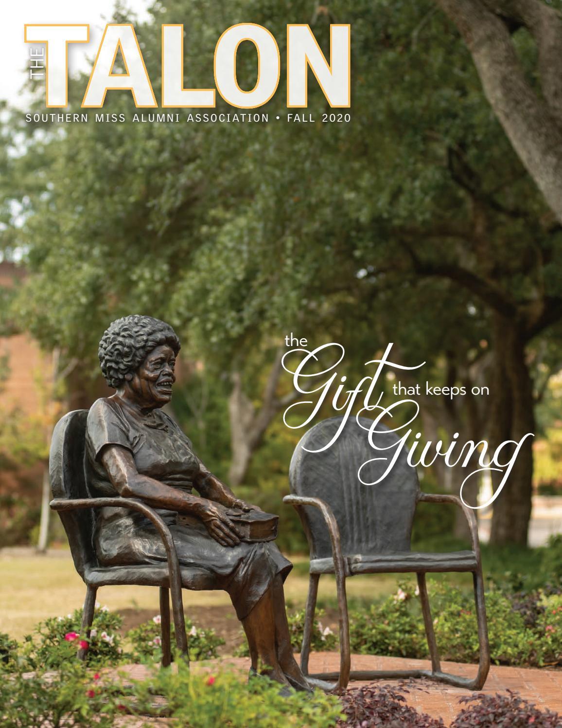 The Talon Fall 2020 By Southern Miss Alumni Association Issuu