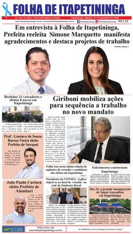 Folha de Itapetininga 21/11/2020 (Sabado)