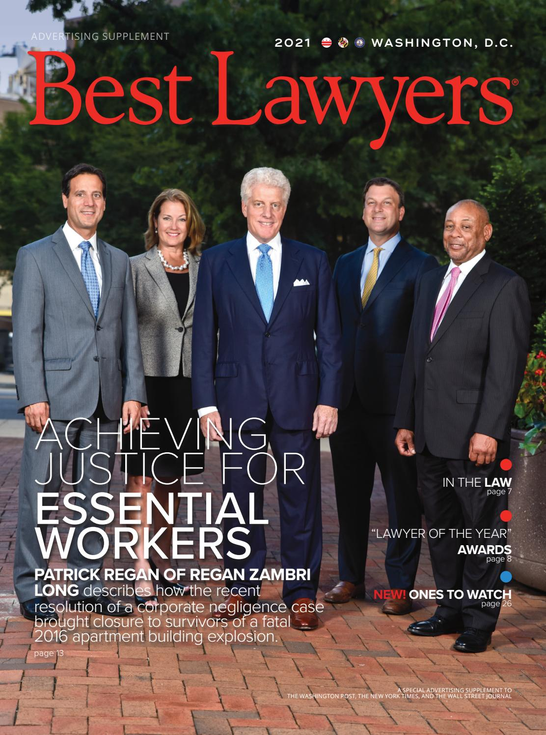 Washington D C S Best Lawyers 2021 By Best Lawyers Issuu