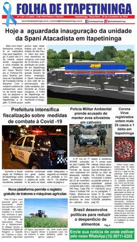 Folha de Itapetininga 24/11/2020 (Terca-feira)