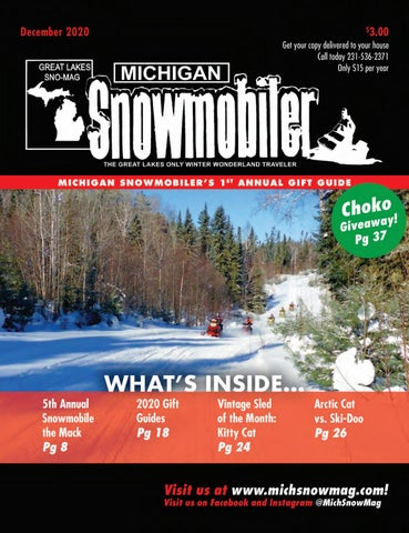 Michigan Snowmobiler December 2020 By Michigansnowmobiler Issuu