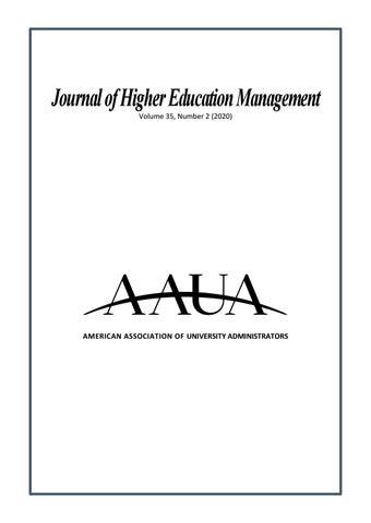 University Of Dayton Academic Calendar 2022 2023.Journal Of Higher Education Management Vol 35 2 By Aaua American Association Of University Administrators Issuu