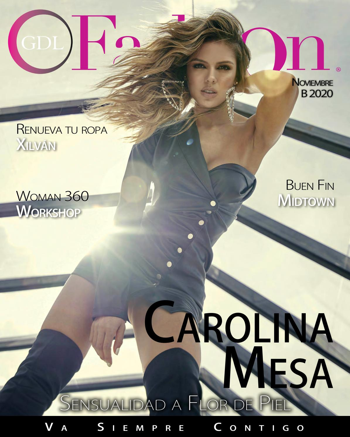 Carolina Mesa Sensualidad A Flor De Piel By Gdlfashion Issuu