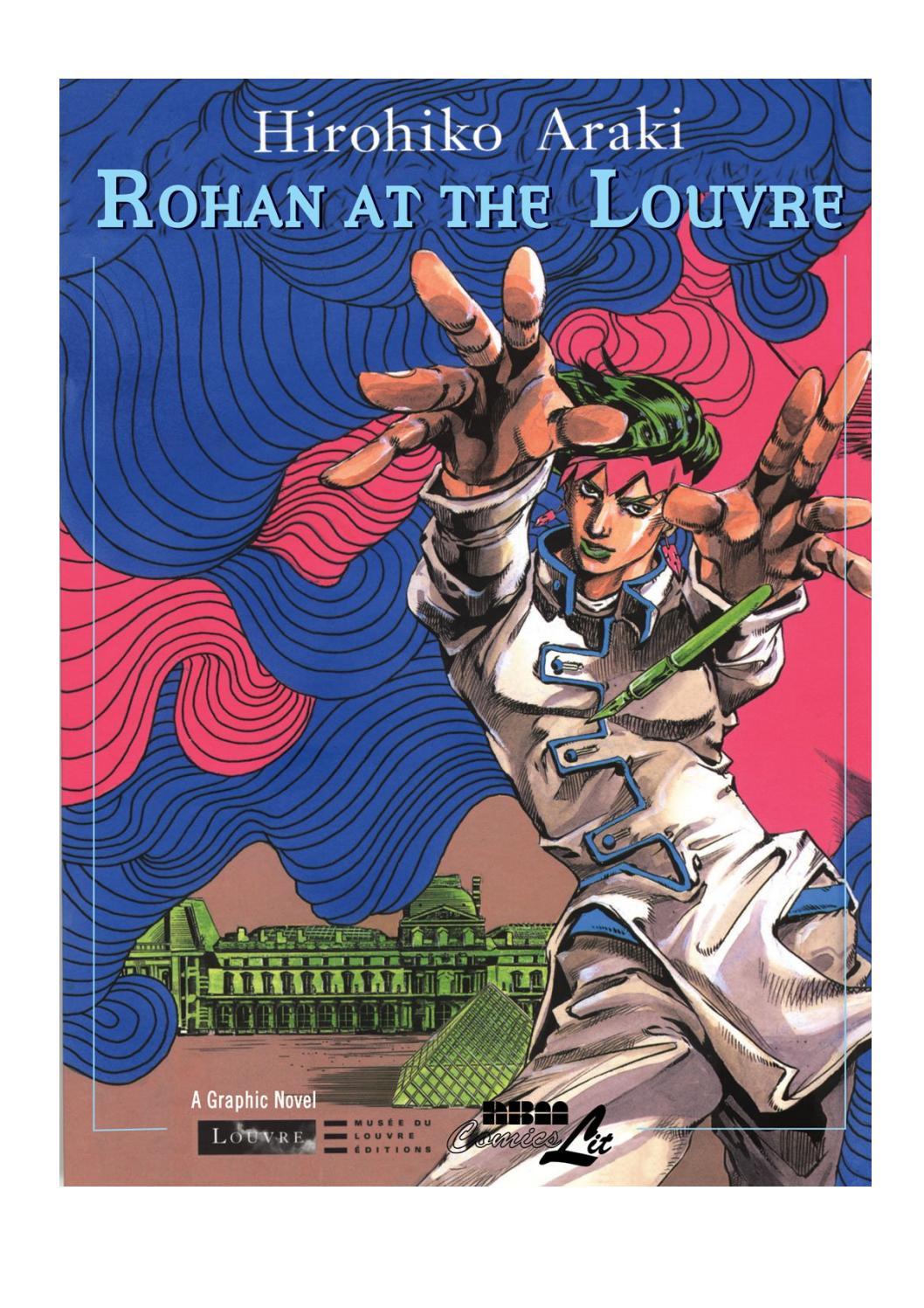 Rohan at the Louvre Louvre Collection pdf Hirohiko Araki by ...