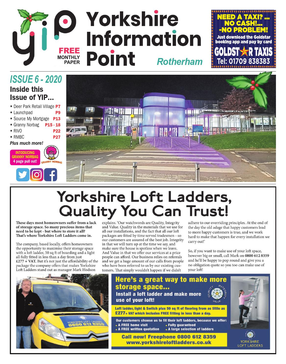 Yip Rotherham Issue 6 By Yorkshireinformationpoint Issuu