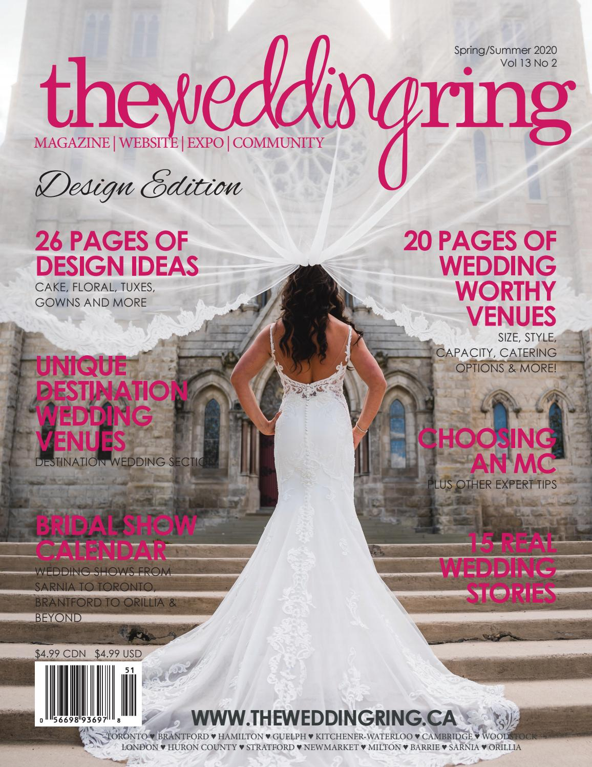 The Wedding Ring Magazine Spring/Summer 18 by The Wedding Ring ...
