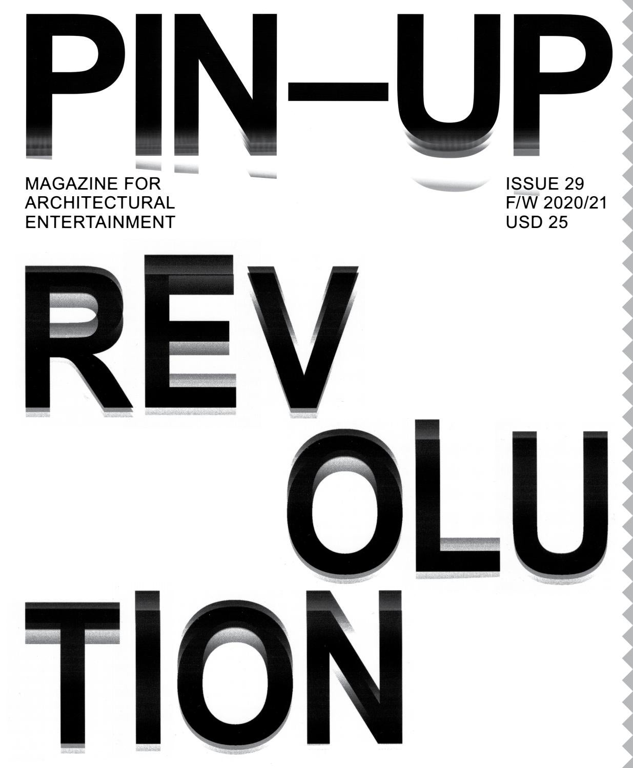 PIN–UP 29 Fall Winter 2020/21 by PIN–UP Magazine - issuu