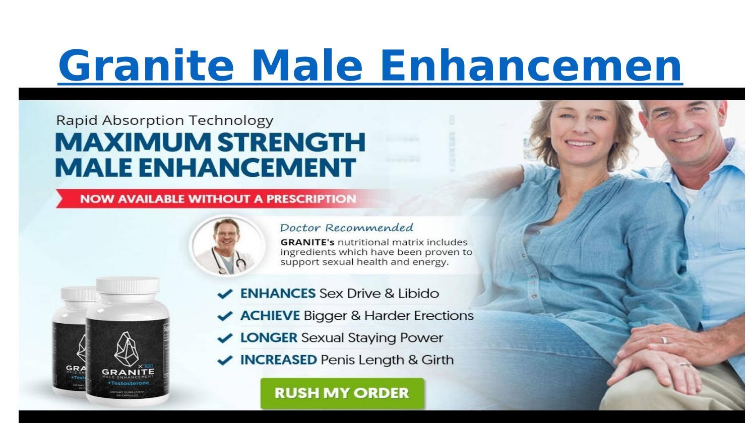 https://supplementrange.com/testosterone-range/granite-male-enhancement/ by  Supplement Range - issuu