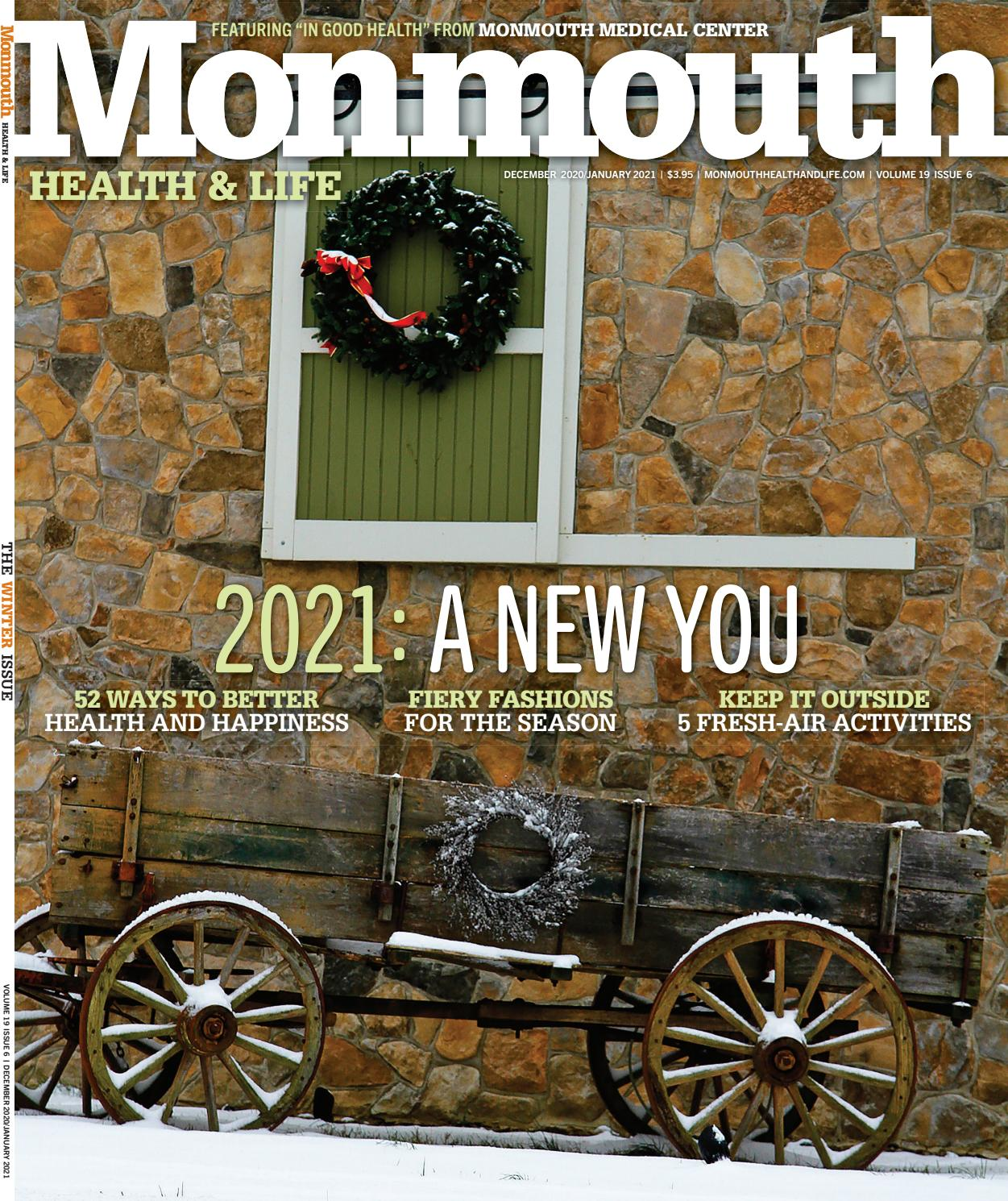 Monmouth Health And Life December 2020 By Wainscot Media Issuu