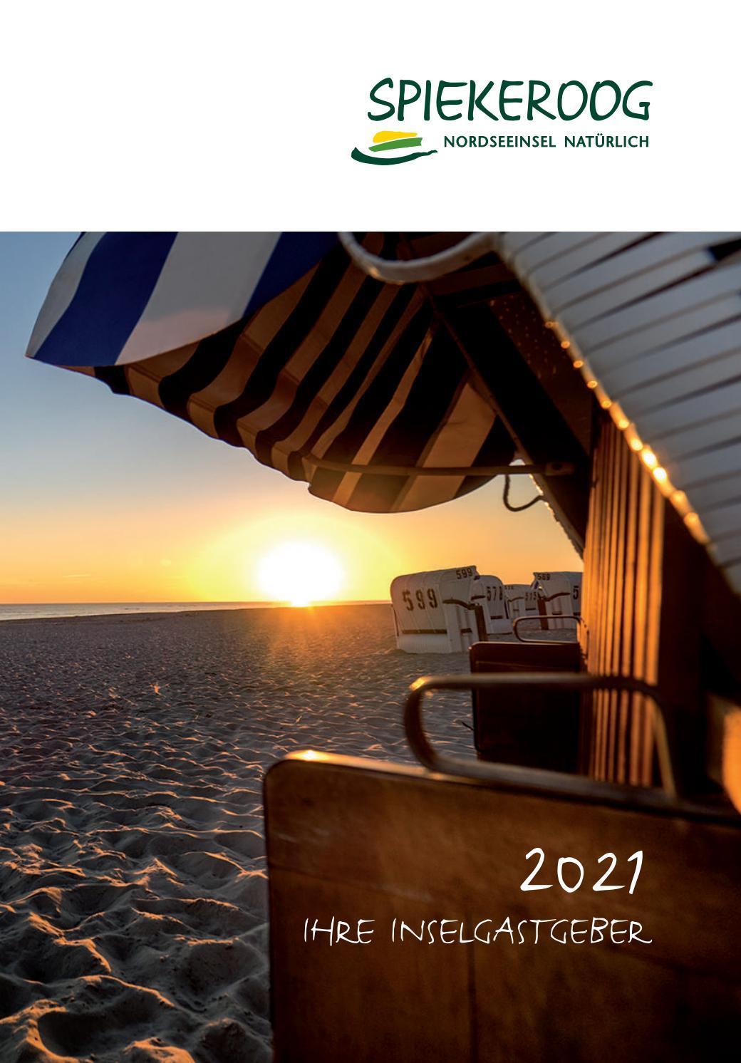 Spiekeroog Ihre Gastgeber 2021 By Ostfriesland Tourismus Gmbh Issuu