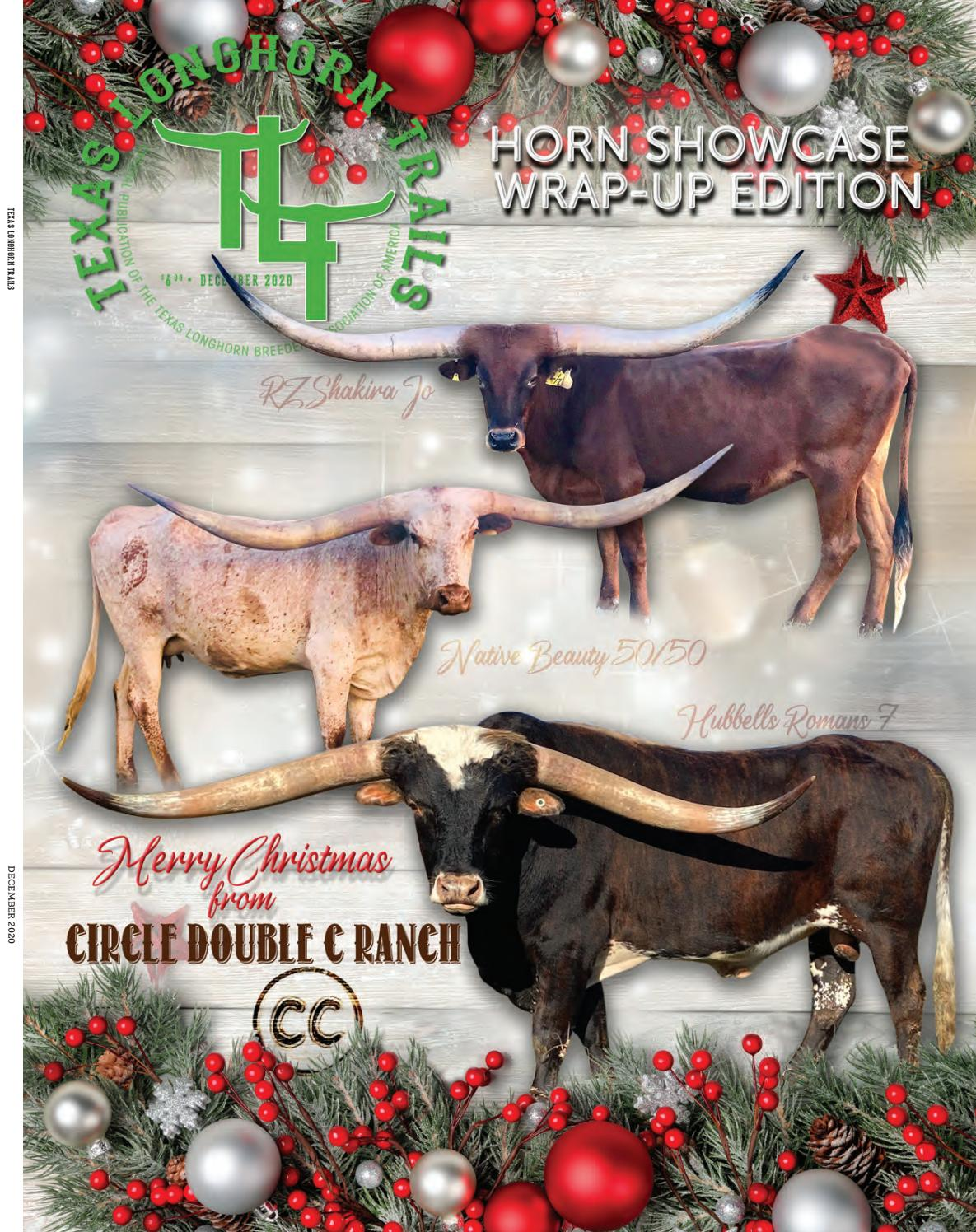 December 2020 Texas Longhorn Trails Magazine by Texas Longhorn