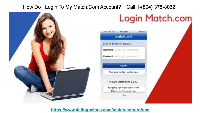 Match com login password