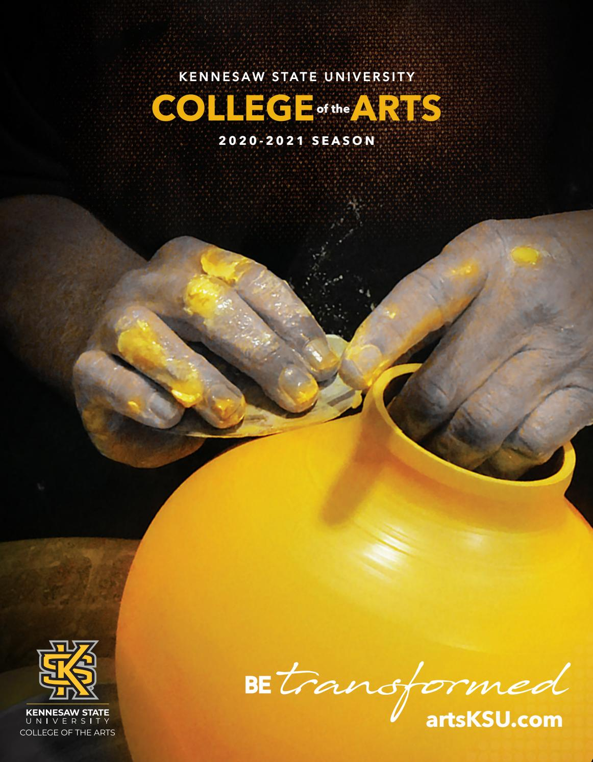 Kennesaw State University College Of The Arts 2020 2021 Season Brochure By Kennesaw State University College Of The Arts Issuu