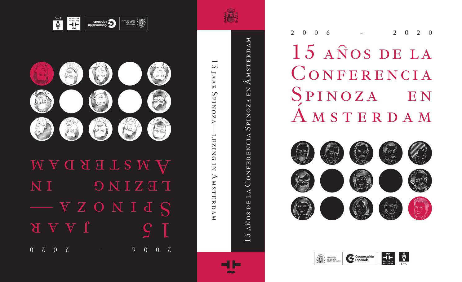 15 Años De La Conferencia Spinoza En Amsterdam 2006 2020 15 Jaar Spinoza Lezing In Amsterdam By Aecid Publicaciones Issuu