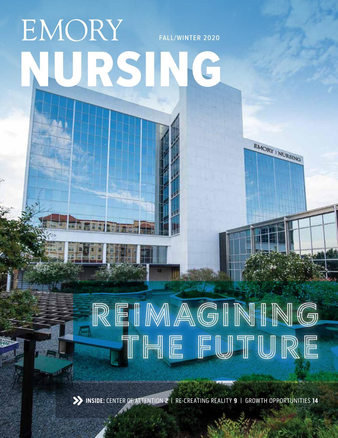 Emory Nursing Magazine Fall 2020 By Emory University Issuu