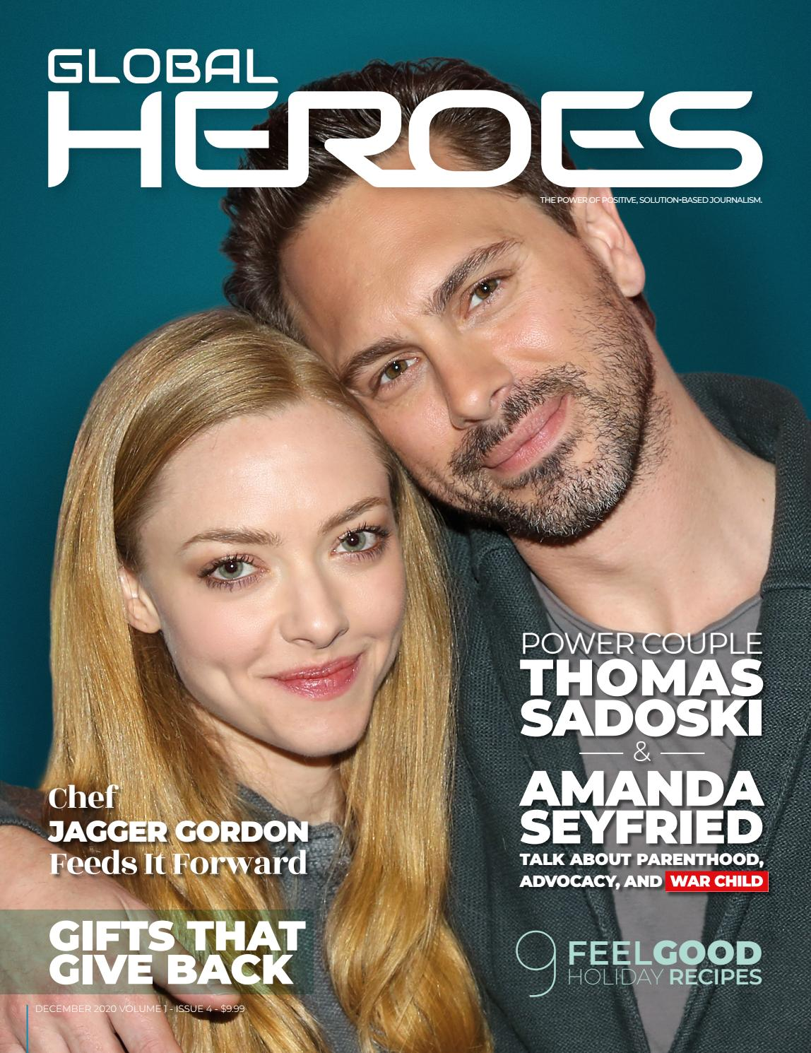 Enjoy Global Heroes Magazine for Free...yeah, because you are a Hero!