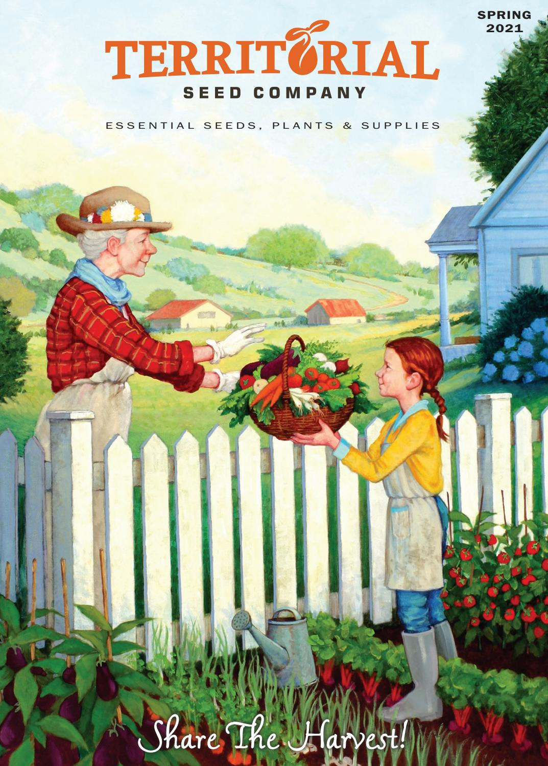Territorial Seed 2021 Spring Catalog By Territorial Seed Company Issuu