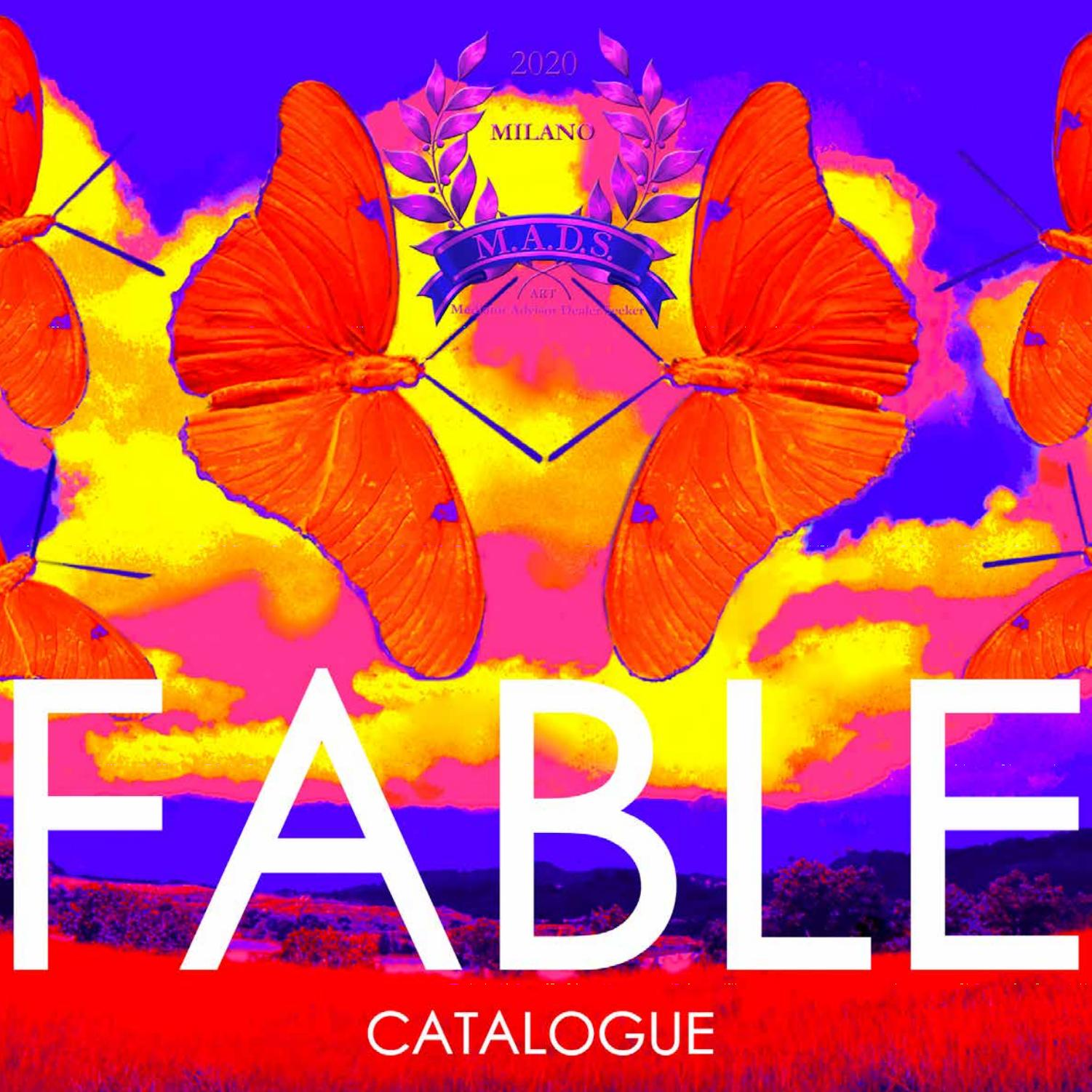 Fable Official Catalogue By M A D S Issuu
