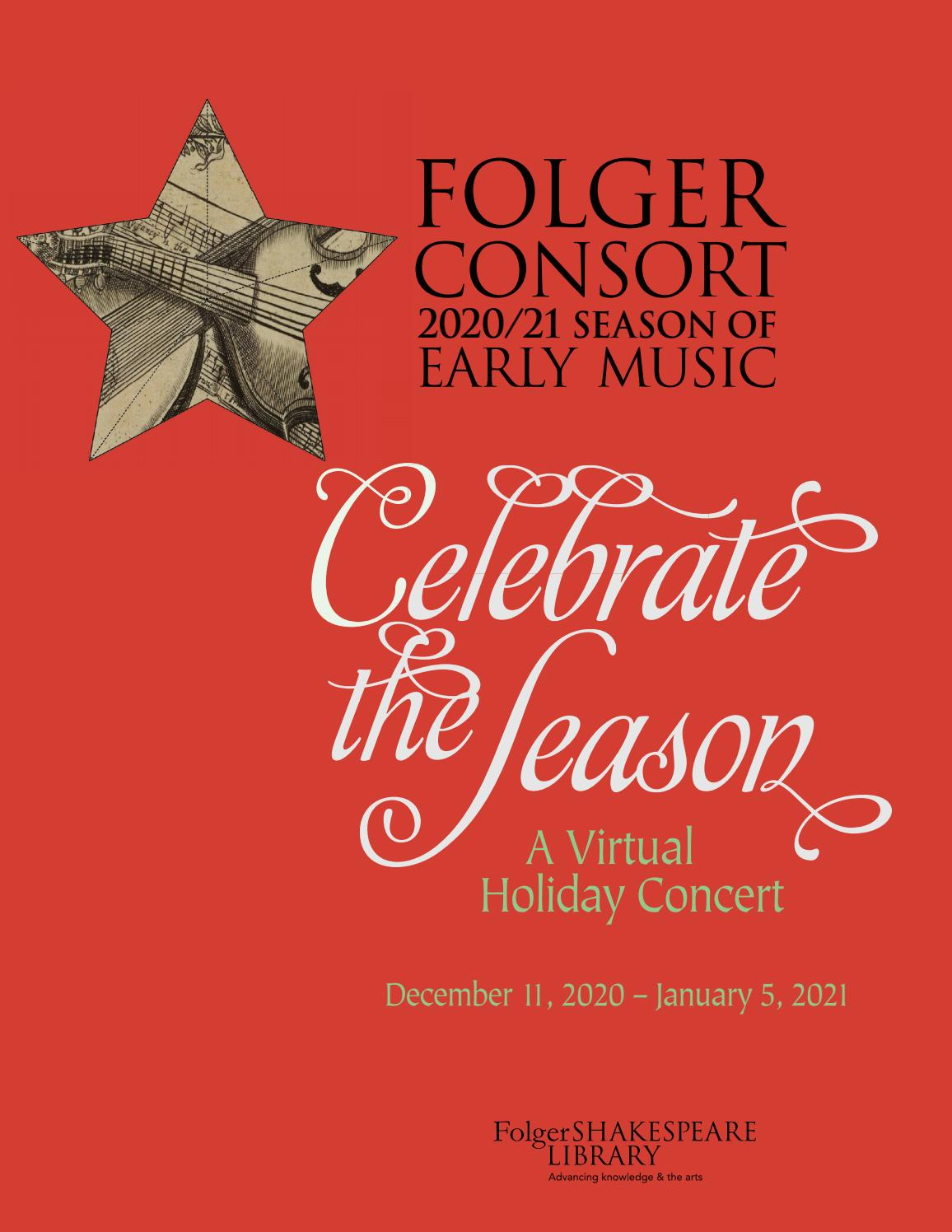 Lutheran Chorale Christmas 2021 Kern County Program For Christmas With The Folger Consort A Virtual Concert By Peter Eramo Issuu